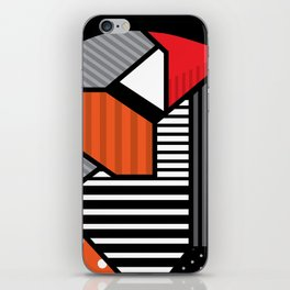 zebra finches iPhone Skin
