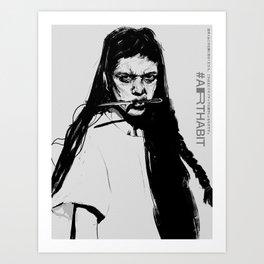 Arthabits Art Print