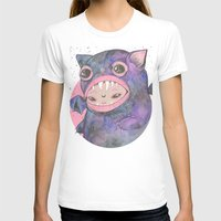 loll3 T-shirts featuring Boooh! by lOll3