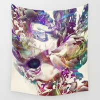 karma Wall Tapestries featuring Karma II by angrymonk