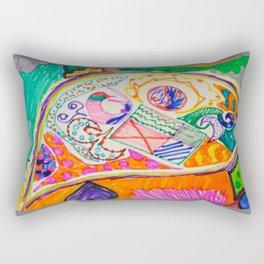 Pop Up Art Rectangular Pillow