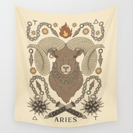 Aries, The Ram Wall Tapestry