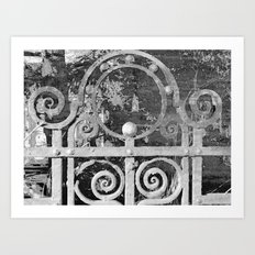 The MAGIC Gate - another dimension Art Print
