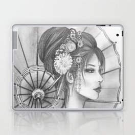 Elegant Oriental Japanese Geisha by Ashley Rose Standish Laptop & iPad Skin