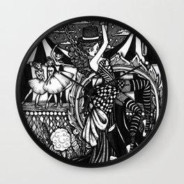 Dark Circus Wall Clock