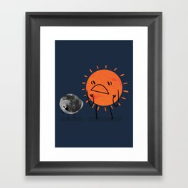 Ultimate Mooning Framed Art Print