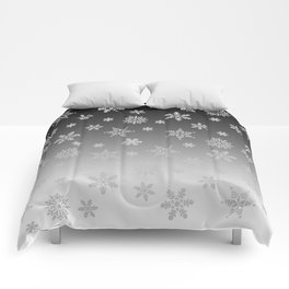 Snow Flurries Comforters