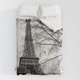 Eiffel tower Paris Comforters