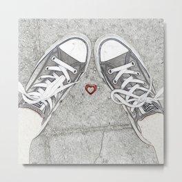 Sneaking Up On Love Metal Print