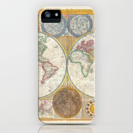 Map 1794 Laurie & Whittle iPhone Case