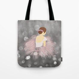 Ballerina Dancer V2 Tote Bag