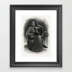 The Omnivorous Reader Framed Art Print