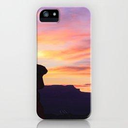 Sunrise 0972 Thor's_Hammer, Bryce_Canyon National Park iPhone Case
