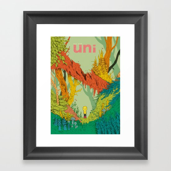 uni Framed Art Print