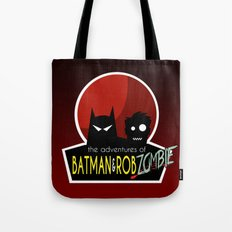 The Adventures of Bat man and Rob Zombie Tote Bag