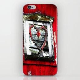 Barn Heart iPhone Skin
