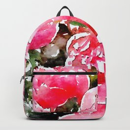 Painted Roses Backpack