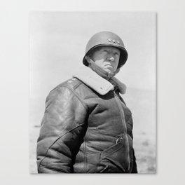 General George Patton Canvas Print