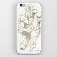 the flash iPhone & iPod Skins featuring Flash  by Dead Rabbit