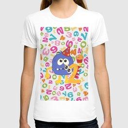 Birthday Monsters 2nd Birthday T-shirt