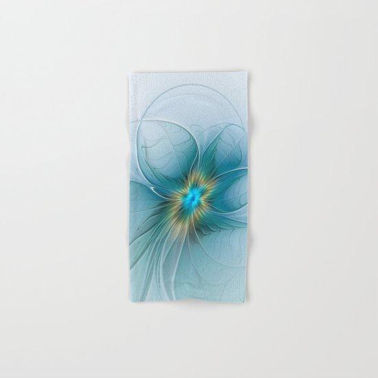 The little Beauty, Abstract Fractal Art Hand & Bath Towel