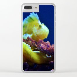 Pair Of Leaf Scorpionfish Clear iPhone Case