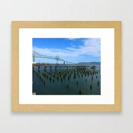 Megler Bridge -  Astoria Framed Art Print