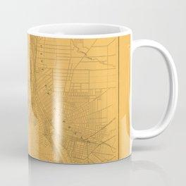 Map of Buffalo 1856 Coffee Mug