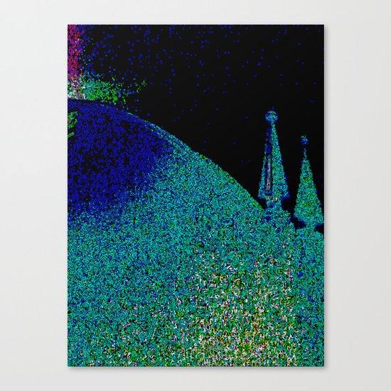 Cadeira da sala de jantar Canvas Print