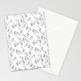 Hammerhead Shark Pattern Stationery Cards
