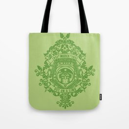 Monkey On a Limb Tote Bag