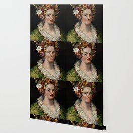 "Giuseppe Arcimboldo ""Flora"" Wallpaper"