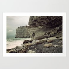 Étretat. France. Art Print