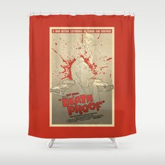 Death Proof Shower Curtain