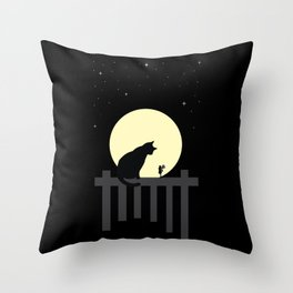 Encounters Throw Pillow