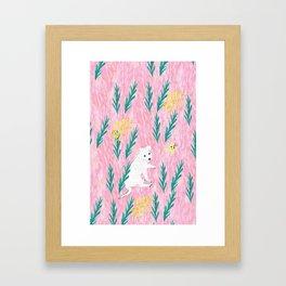 Sharkie Framed Art Print