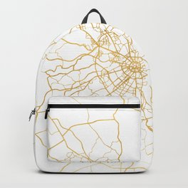 MOSCOW RUSSIA CITY STREET MAP ART Backpack