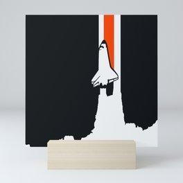 Launch me - The Final Flight of the Space Shuttle Mini Art Print