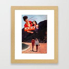 NON STOP Framed Art Print