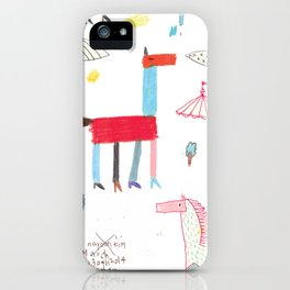 MerryGoRound iPhone Case