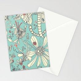 Deep Sea Green Stationery Cards