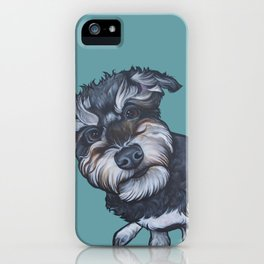 Benji the Schnoodle iPhone Case