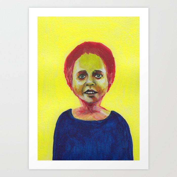 Les petites filles I.4 Art Print