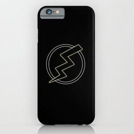 Flash & Bolt iPhone Case