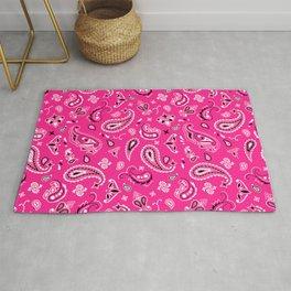 Pink Bandana Rug