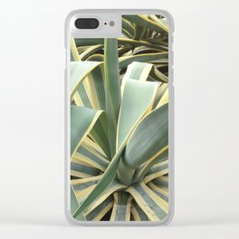 Scribbling with plants Clear iPhone Case