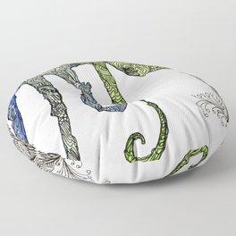 Cameleon Toe Floor Pillow