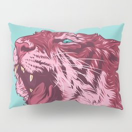 Magenta tiger Pillow Sham