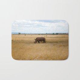 Rhino. Bath Mat