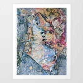 Stone Art Art Print